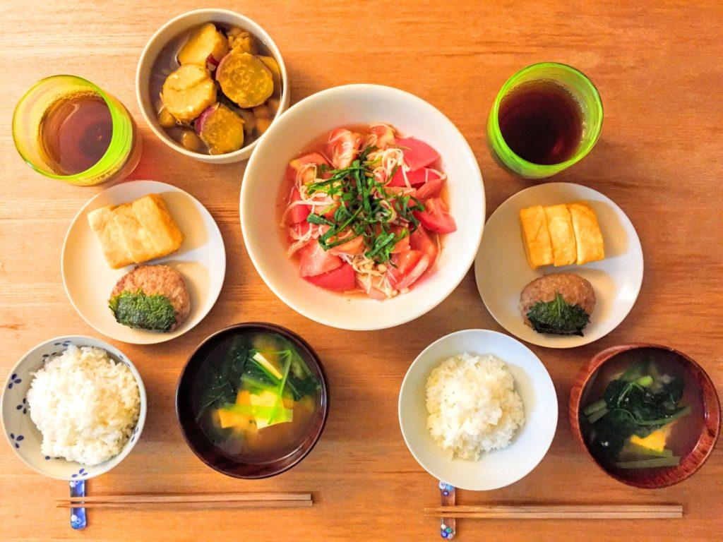 健康的な食事や生活習慣